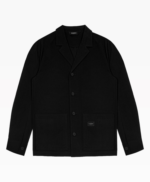 Wasted Worker Jacket Black Front