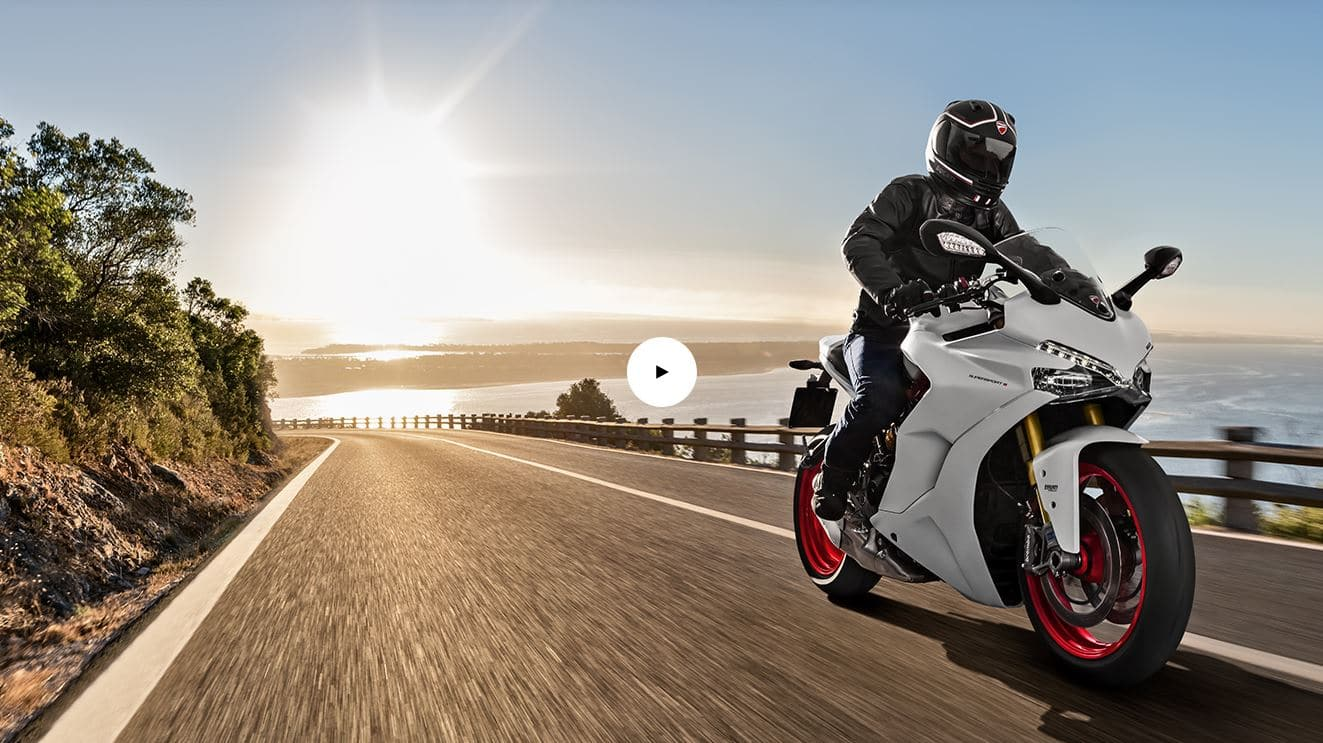 ducati supersport essai video
