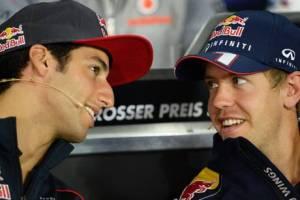 German Sport Bild reports Ricciardo may partner Vettel at Red Bull
