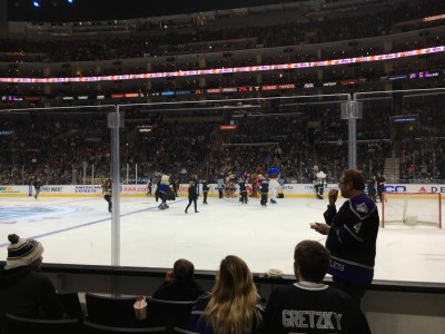 Kings (2) vs. Ducks (3) at the Staples Center, 3/5/2016