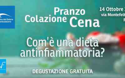 Dal poliambulatorio aperto alla degustazione antinfiammatoria