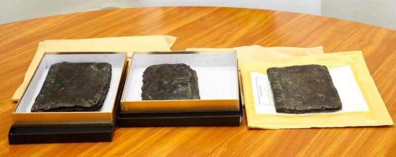 3 ukradeni starodavni verski kodeksi