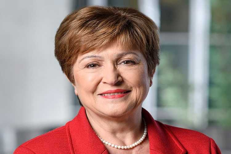 IMF managing director Kristalina Georgieva.