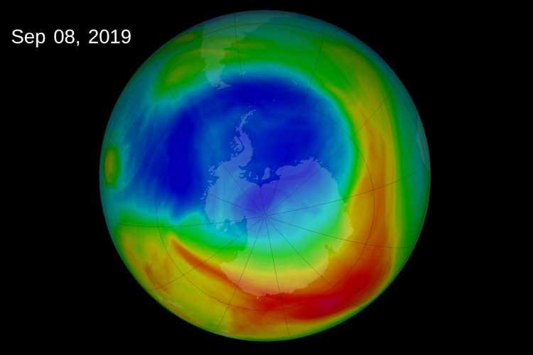 ozone layer above Antarctica