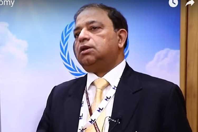 Dilip Kumar Gupta, managing director of Sagarmala Development Company Ltd