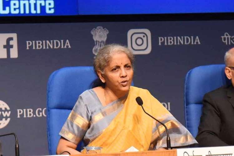 Budget 2021 by nirmala sitharaman