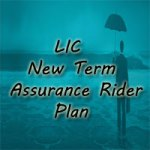 LIC New Term Assurance Rider Plan Details, Review, Features