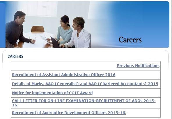 LIC Careers page