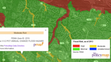 Flood Risk Map available in Google Maps Gallery