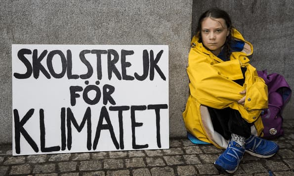 Cuánto de marketing hay en Greta Thunberg