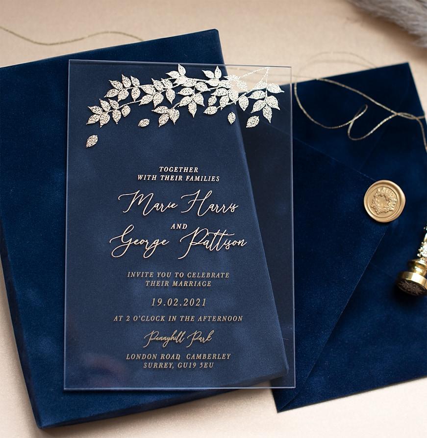 luxury wedding invitations uk london