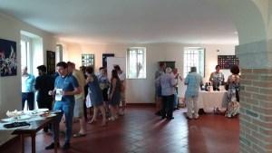 Sala degustazione vini rossi