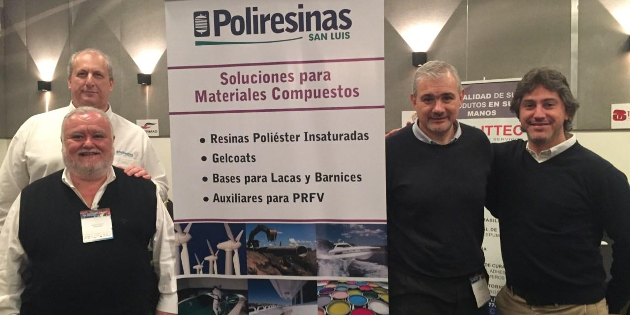 Poliresinas en el Congreso Sudamericano de Composites, Poliuretano y Plásticos de Ingeniería