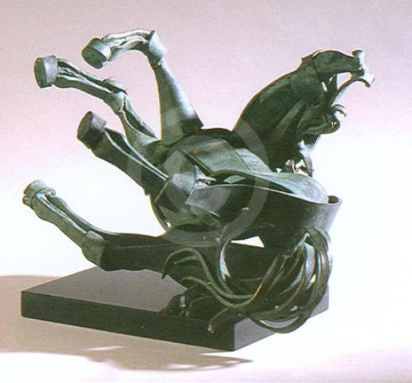 cavallo caduto