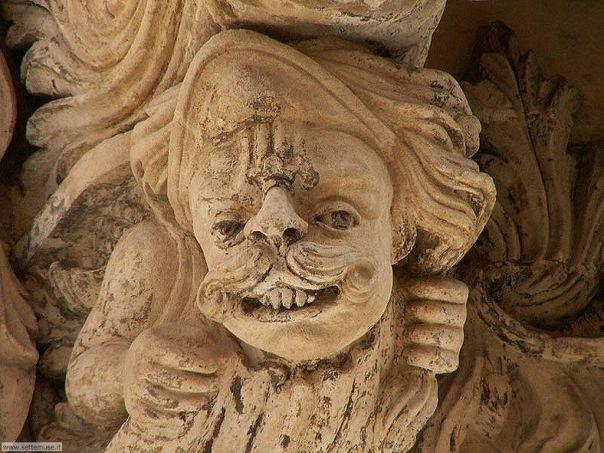 barocco mascherone