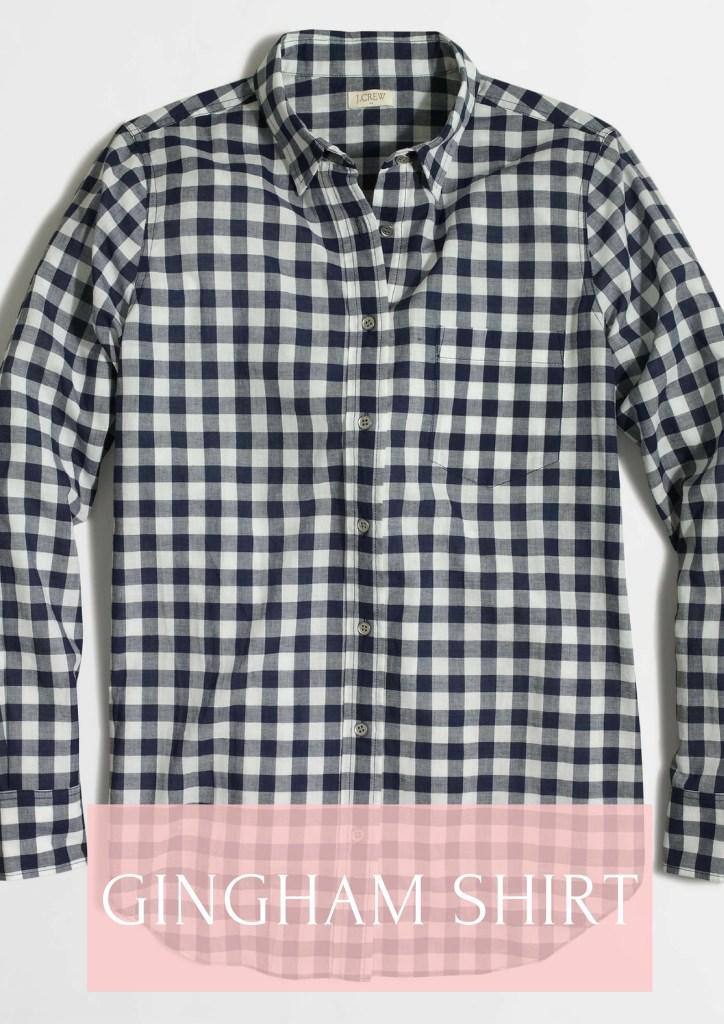 Gingham Shirt for Fall