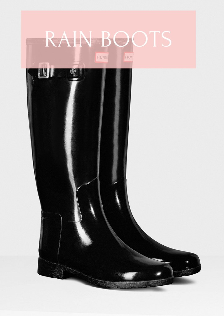 Hunter Boots: A fall essential