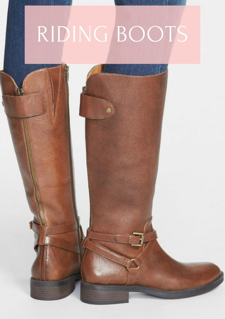Can't live without riding boots in the fall