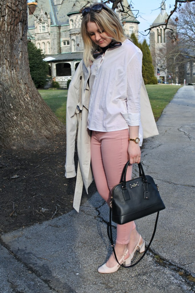 Spring Outfit | Polished and Pink