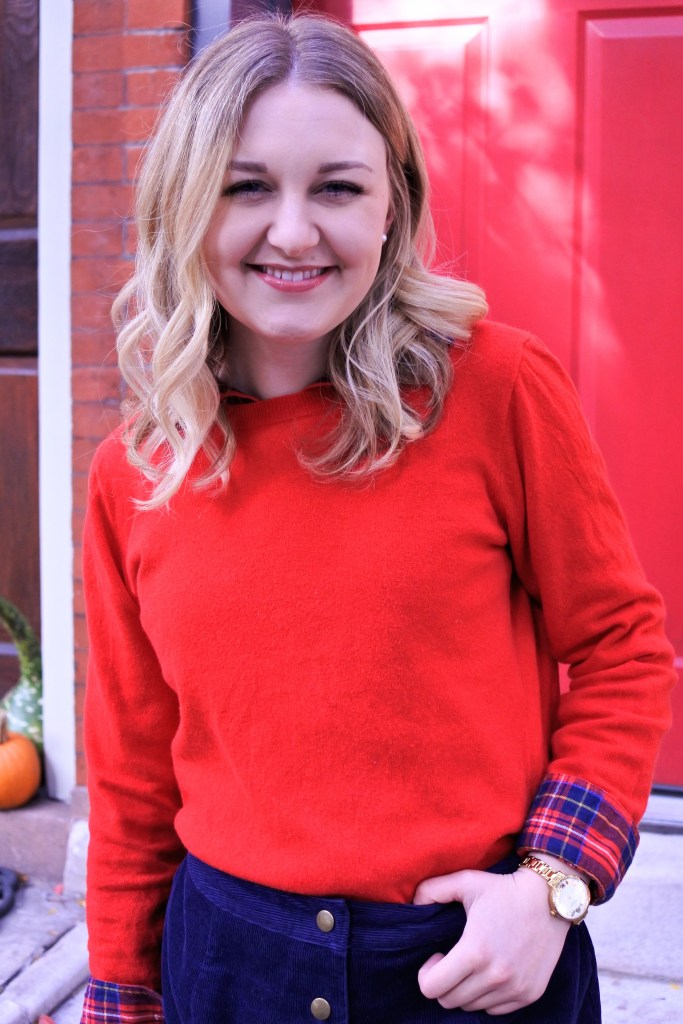 What to wear for Thanksgiving: Dressed Up in Festive Red