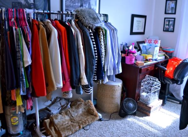 Organization Solutions // Spare Bedroom Edition