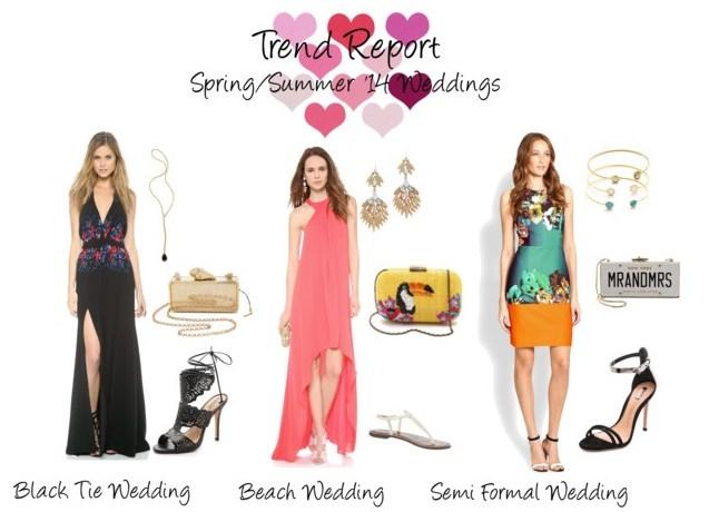 Trend Report // Spring + Summer '14 Weddings