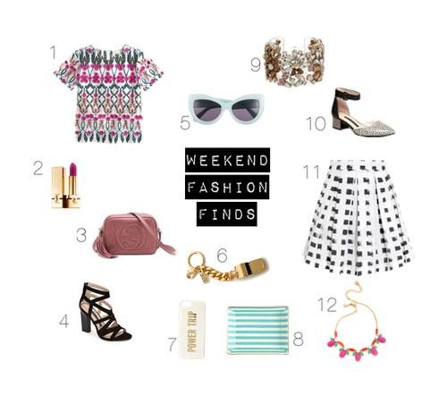 Weekend Fashion Finds