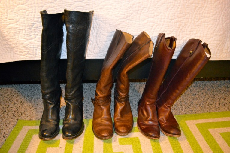 Sad boots.