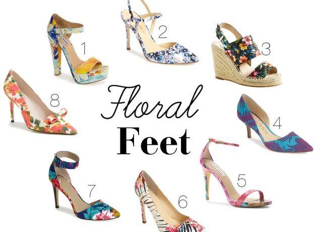 Floral Feet