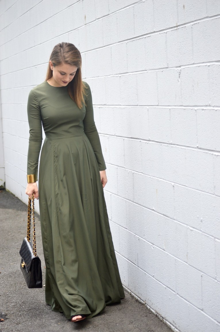 Long Sleeve Maxi Dress for Fall