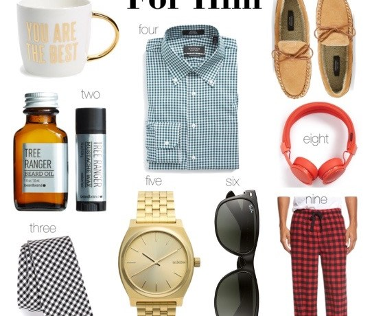 Holiday Gift Guide for Him || Under $100
