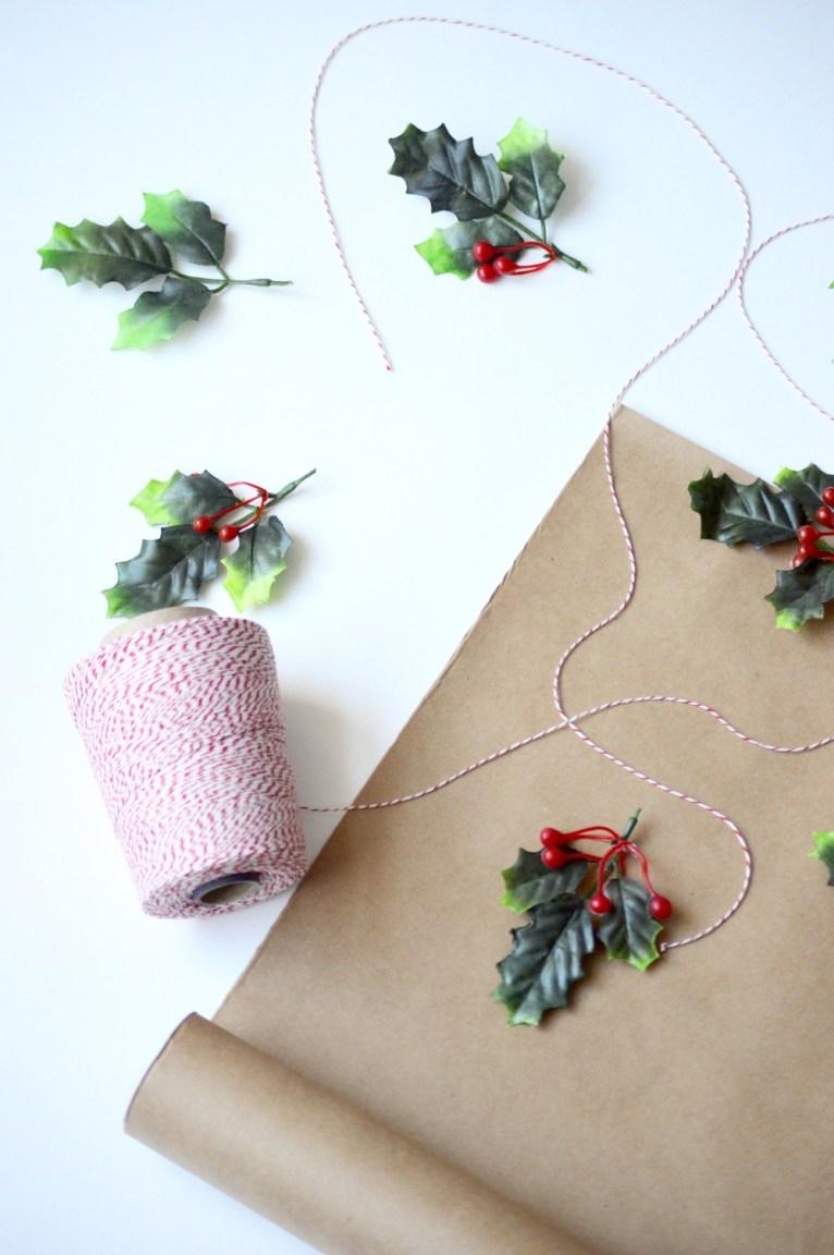 DIY Wrapping for Christmas