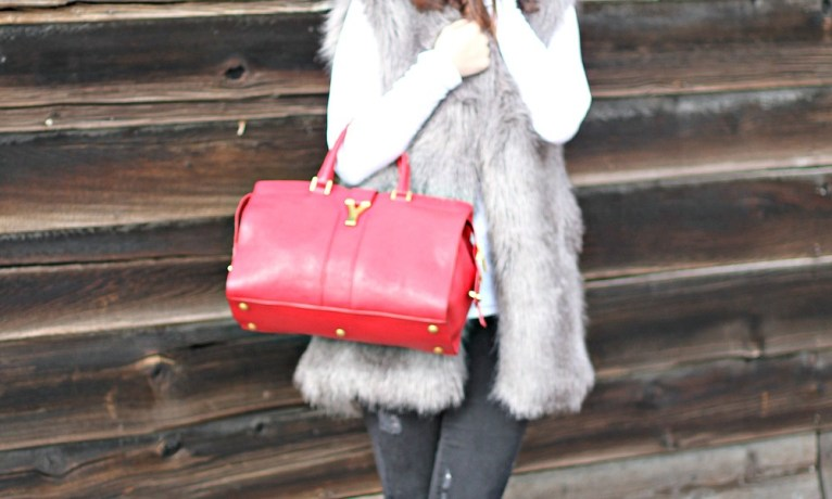 The Perfect Faux Fur Vest