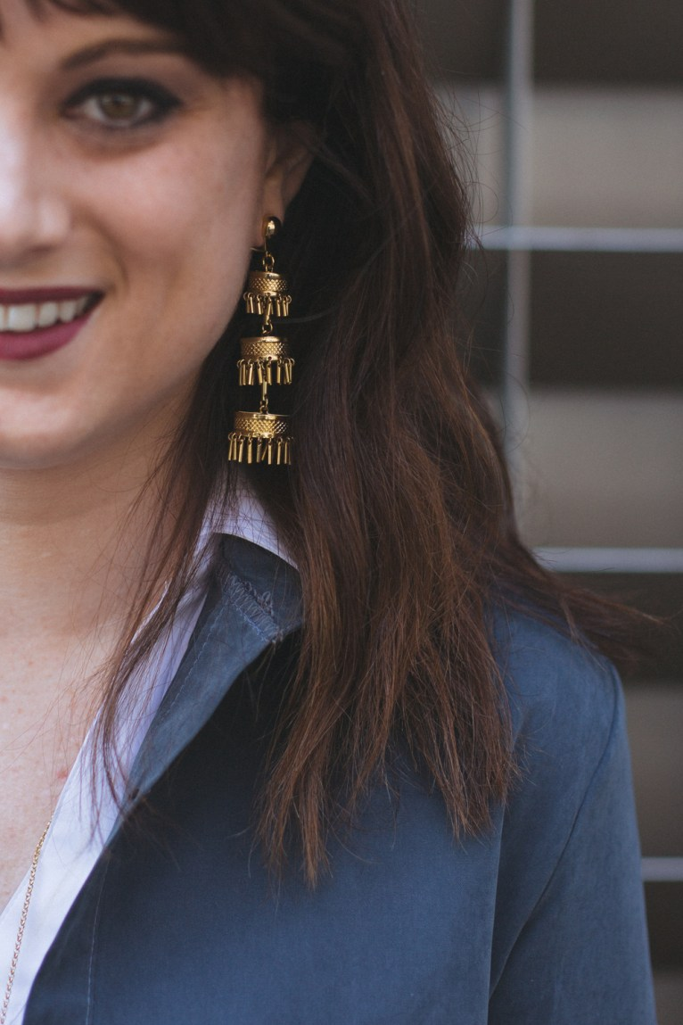 Lele Sadoughi Pagoda Earrings