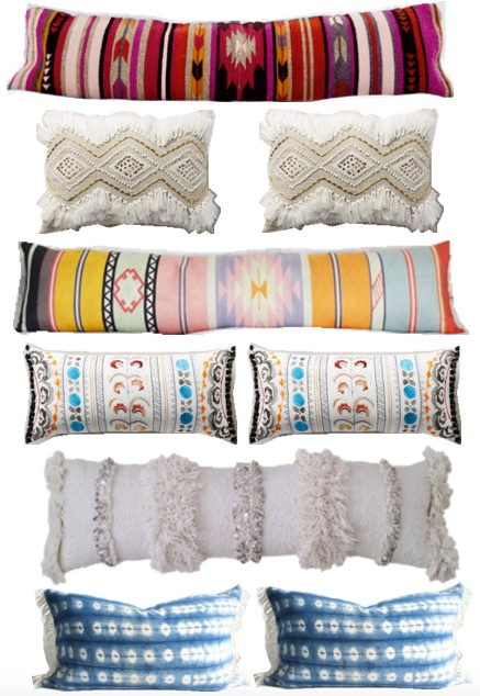 statement lumbar pillows