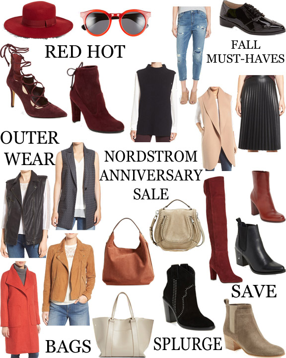 nordstrom anniversary sale 2016 || polishedclosets.com