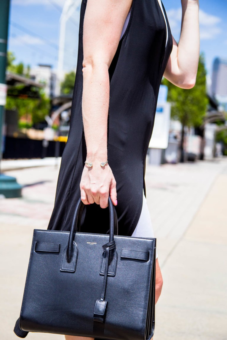 Saint Laurent Sac De Jour || @polishedclosets