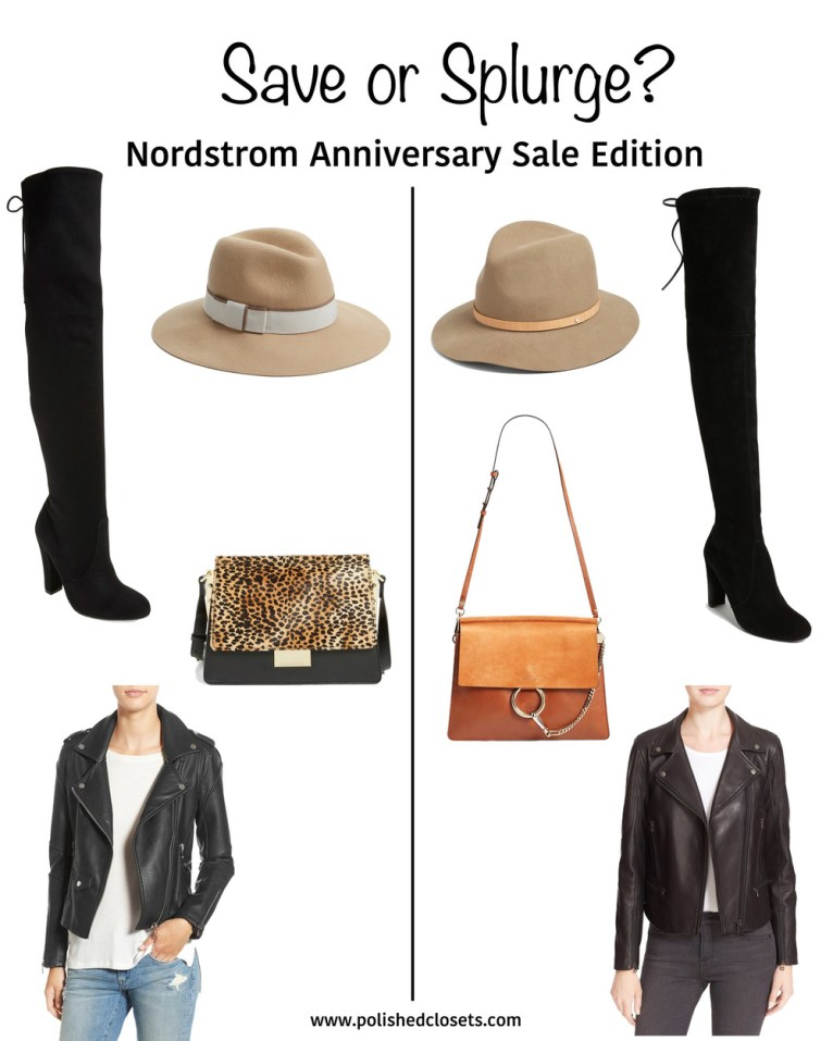 save or splurge Nordstrom Sale 2016 || www.polishedclosets.com