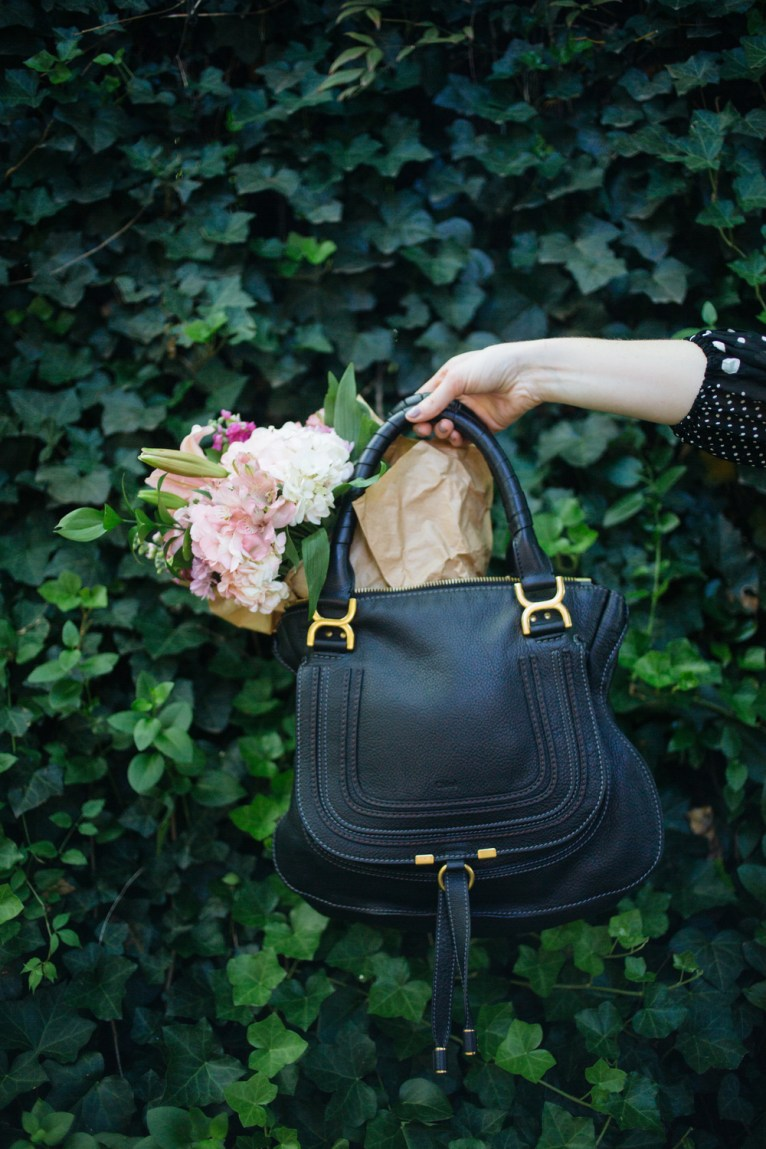 Chloe Marcie Bag in Black || @polishedclosets