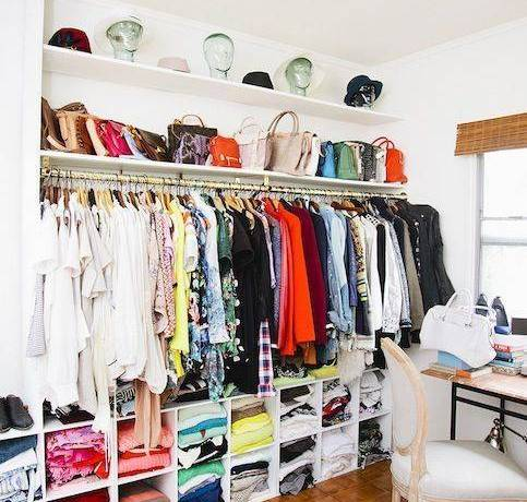 Turn a Spare Room into a Walk-In Closet