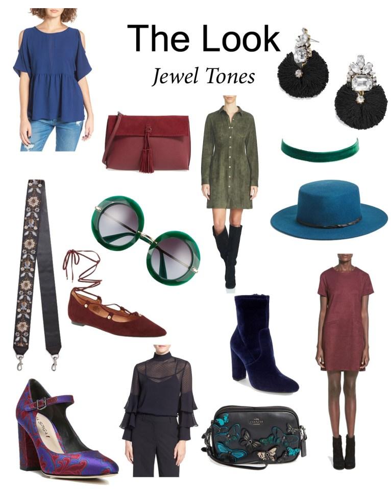 Jewel Tones // www.polishedclosets.com