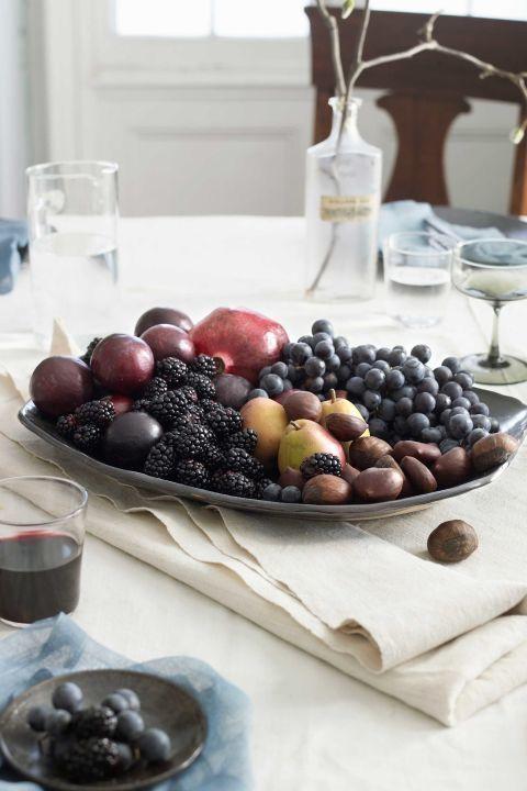 Edible Centerpiece for Fall