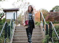 Sequin Outfit for the Holidays