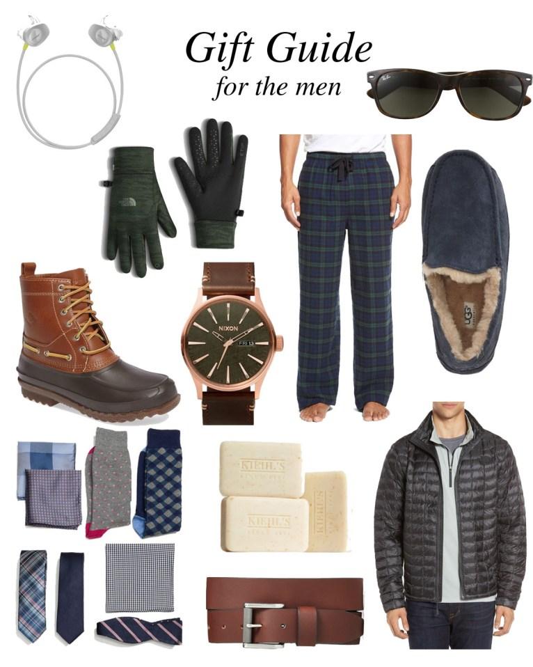 Gift Guide for Men // www.polishedclosets.com