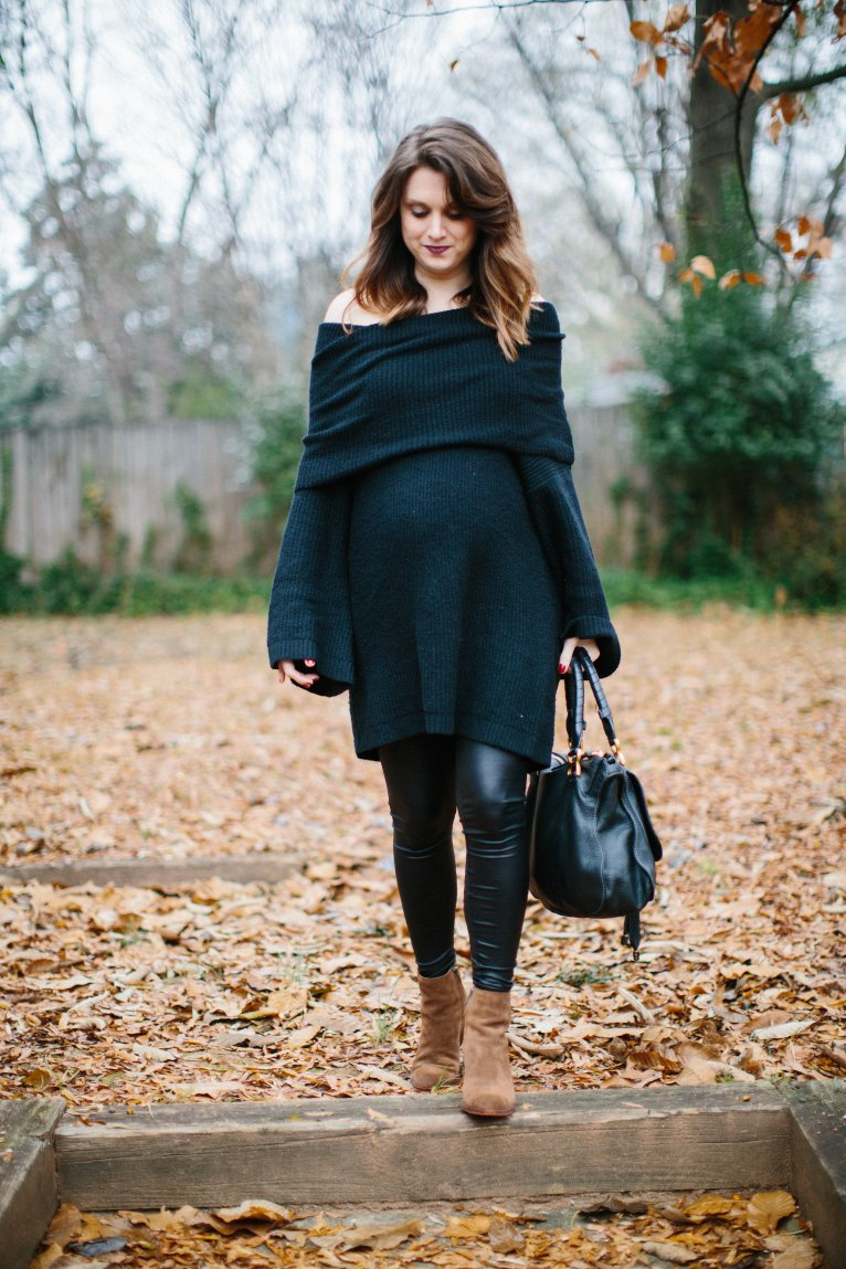 the perfect maternity sweater