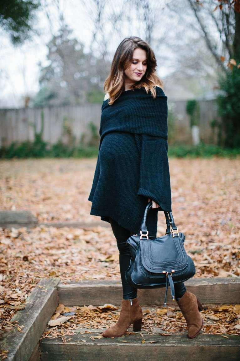 all black outfit // www.polishedclosets.com