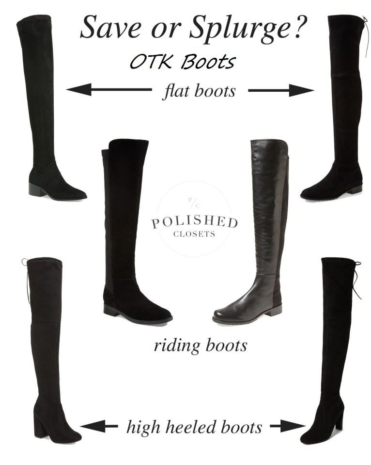over the knee boots // www.polishedclosets.com