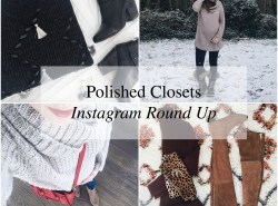 Instagram Round Up // www.polishedclosets.com