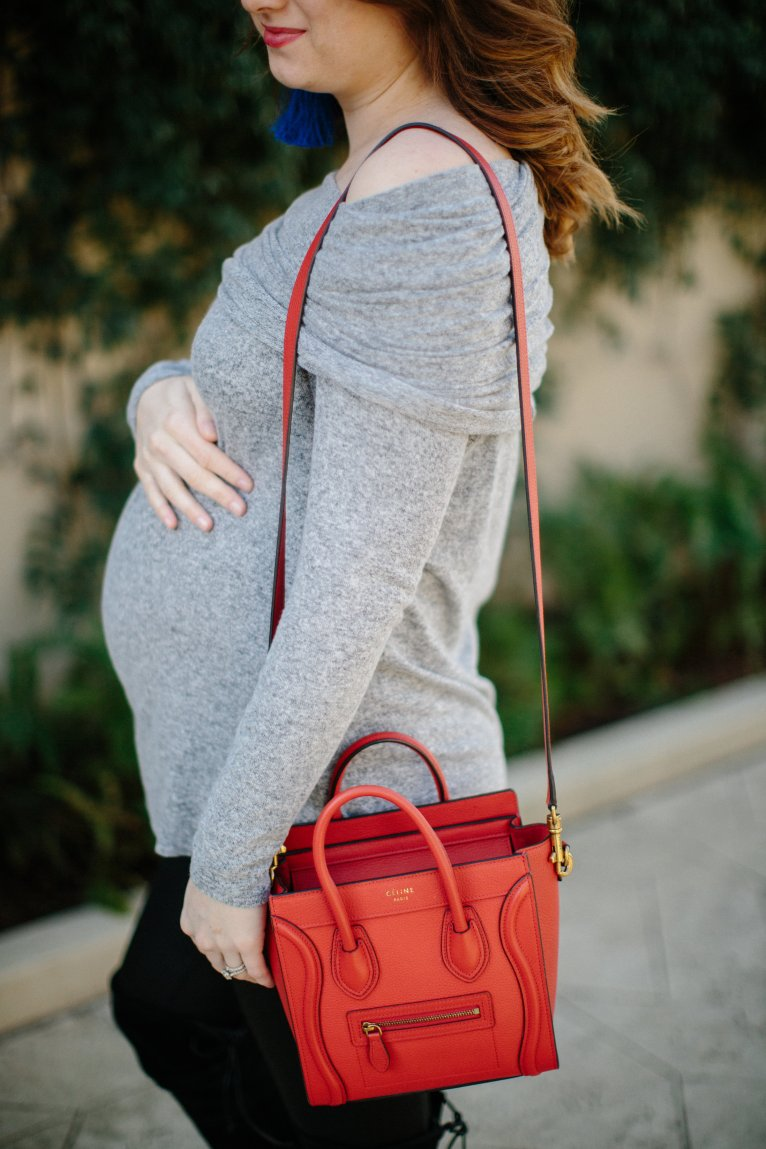 Celine Nano in Red // www.polishedclosets.com
