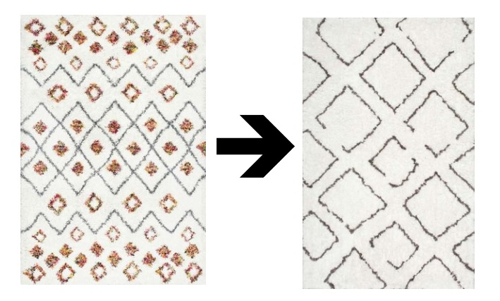 boho rugs for boy nursery // www.polishedclosets.com